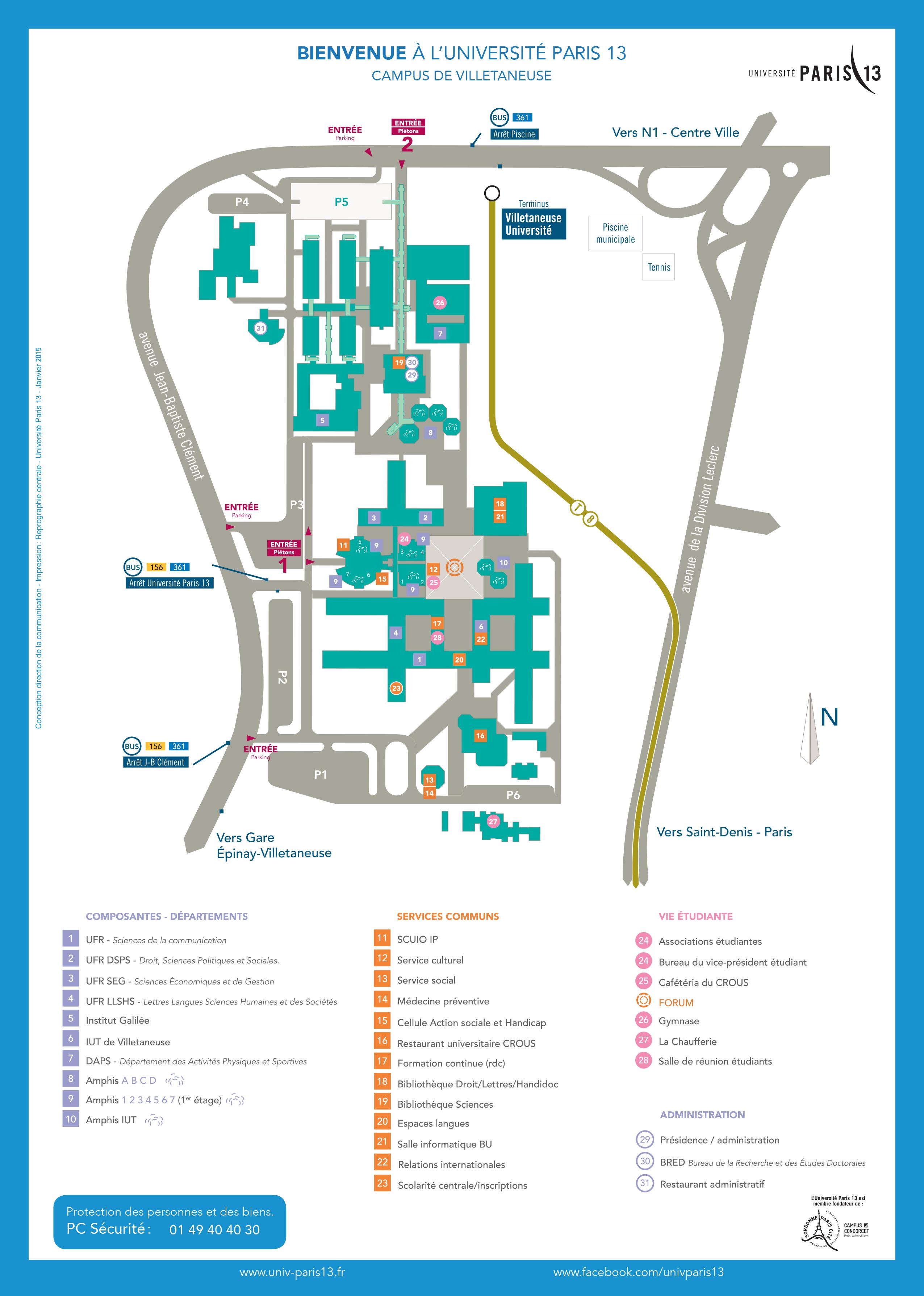 Plan Campus UP13