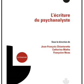 """Parution de l'ouvrage """"L'écriture du psychanalyste"""""""